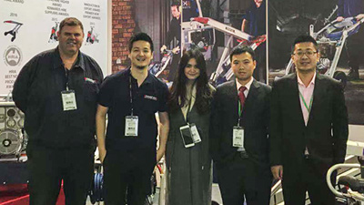 Dopro Material Handling Equipment Co., Ltd went to Germany to participate in Hanover International Logistics Exhibition